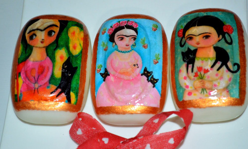 souvenir 15 años jabones decorados artesanalmente !!!