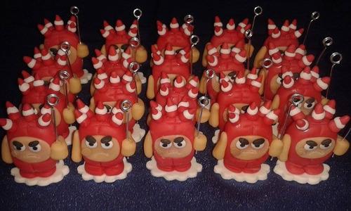 souvenir adorno de torta mickey bebe,cars,winnie, plim plim
