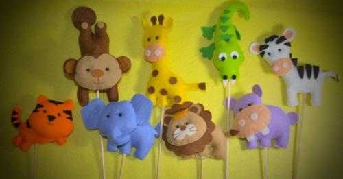 souvenir animales de la selva,baby shower,cumpleaños