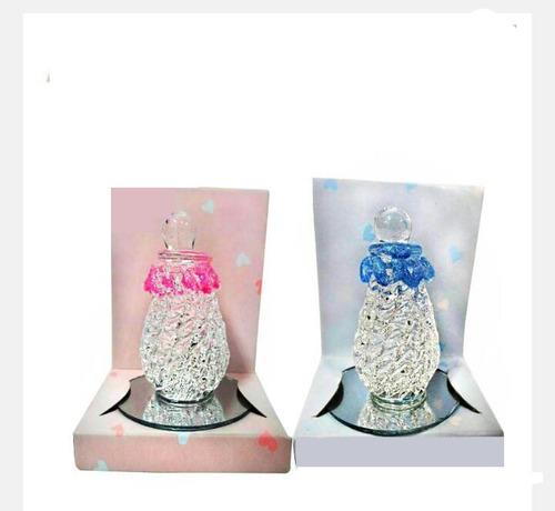 souvenir baby shower mamadera de vidrio personalizada
