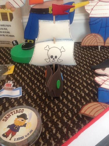 souvenir barco pirata