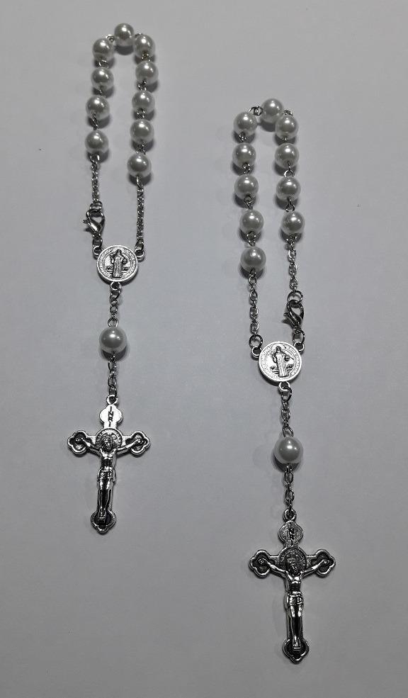 f690dd19611 souvenir bautismo comunión denario pulsera rosario. Cargando zoom.