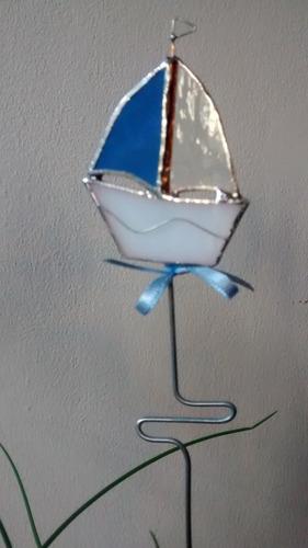 souvenir bautismos cumple barquitos vitraux