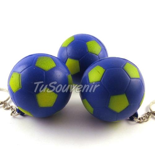 souvenir boca juniors rosario central llavero pelota futbol