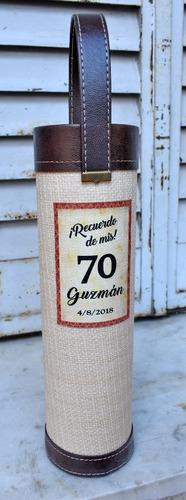 souvenir bolso vino personalizado.