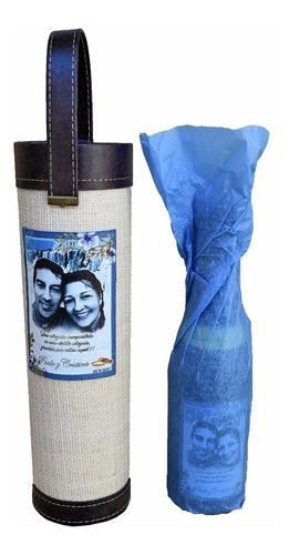 souvenir bolso vino personalizado casamiento, eventos.