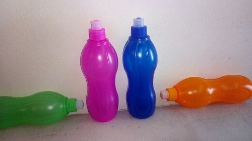 souvenir botellas deportivas con pico 500cc colores variados