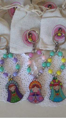 souvenir comunion combo x3 lata/denario o pulsera/estampita