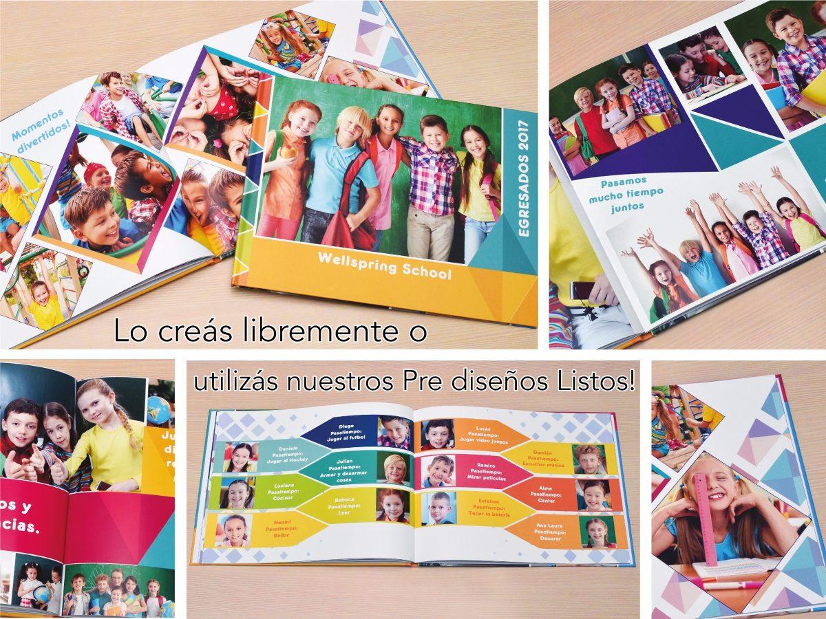 Souvenir De Egresados Fotolibro Recuerdo Y Anuario Escolar - $ 729 ...