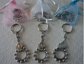 a9a340dbc 40 Denarios Llaveros Comunion - Souvenirs para tu casamiento, bautismo y  más! en Mercado Libre Argentina