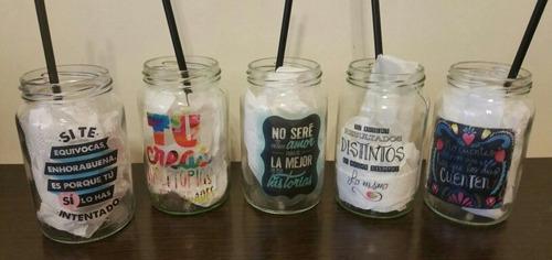 souvenir frascos vidrio