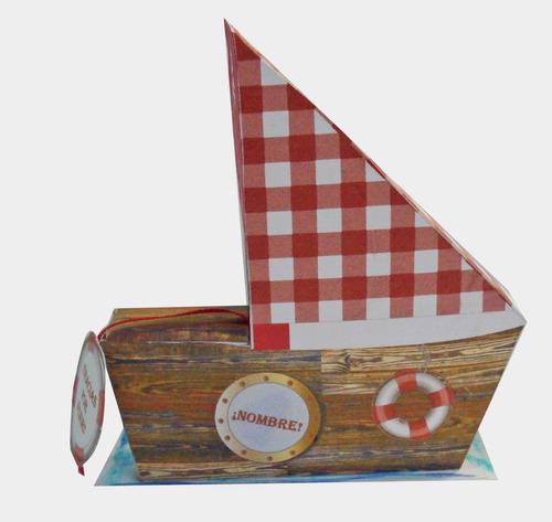souvenir infantil barco pirata para cumpleaños!