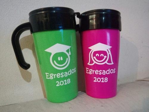 souvenir jarros termicos pers con  vinilo variedad de colore