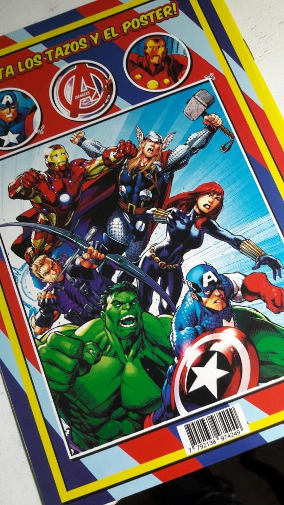 Souvenir Libro Para Colorear Avengers Personalizado - $ 20,00 en ...