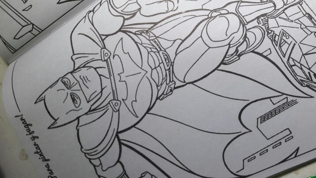 Hermosa Batman Para Colorear Libro Composición - Ideas Para Colorear ...