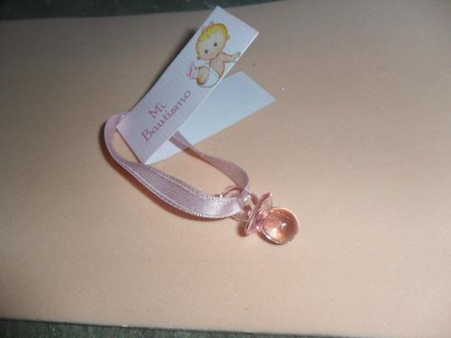 souvenir -nacimiento-bautismo -10 chupetitos acrílico -$ 70