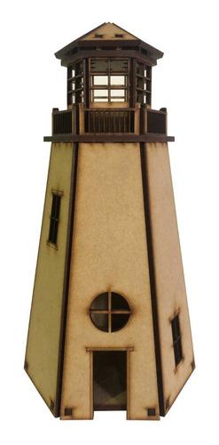 souvenir nautico faro fibrofacil 25cm mdf  candybar