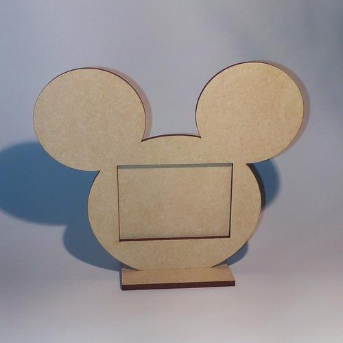 souvenir portaretrato mickey mouse - disney - fibrofácil