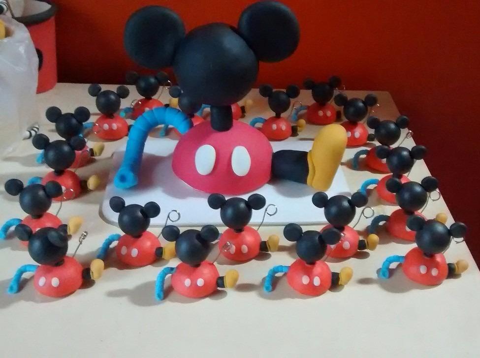 Souvenir,adorno Torta Casa Mickey Mouse - $ 13,00 en Mercado Libre
