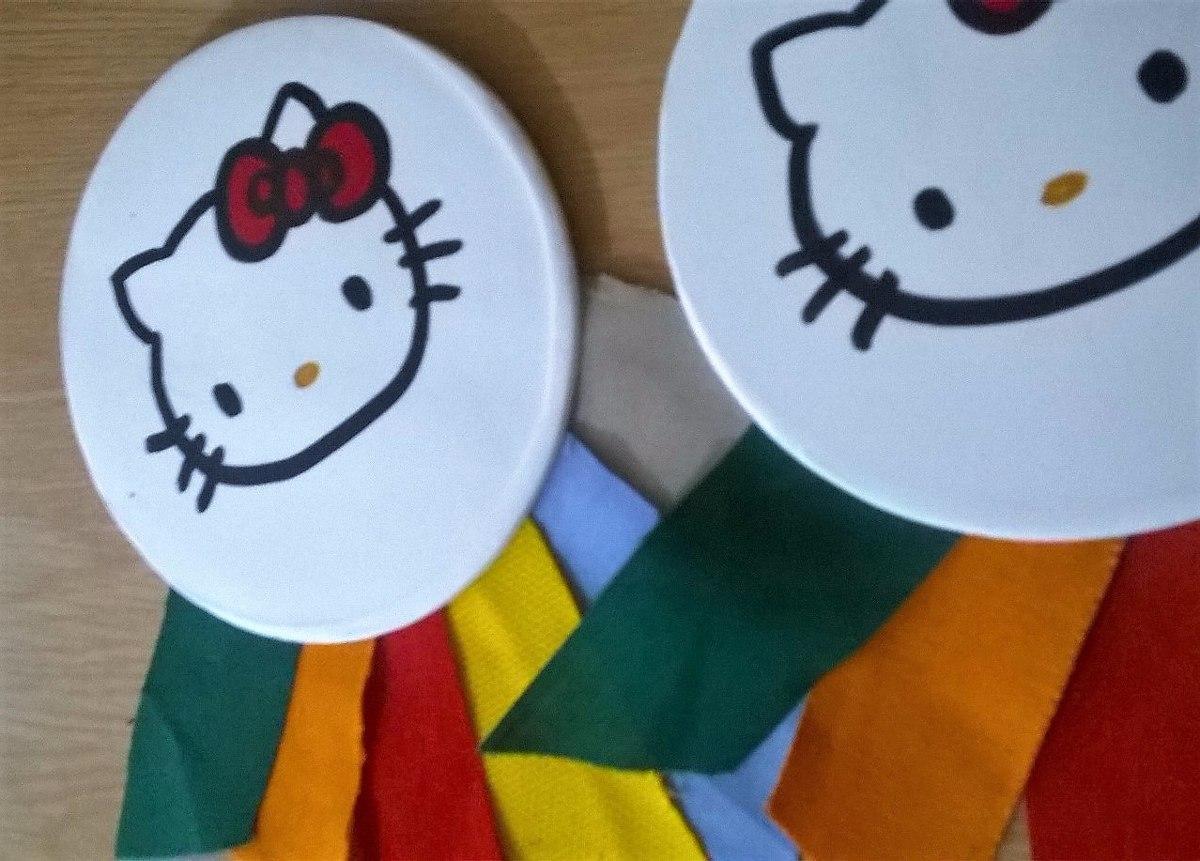 Souvenires Hello Kitty Colores + Kit Imprimible Gratis - $ 400,00 en ...