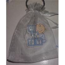Llaveros Recuerdo - Souvenirs * Baby Shower- Bautizo +bolsa
