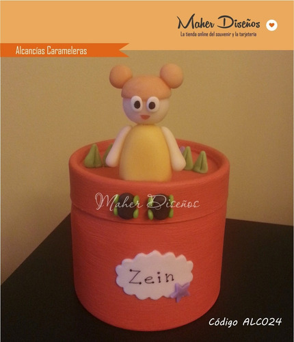 souvenirs alcancias carameleras personajes baby tv
