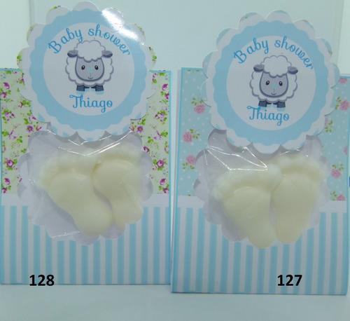 souvenirs  baby shower   piecitos-jabon - x40!! promo!