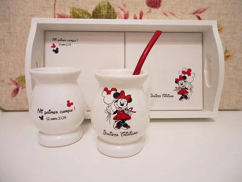 souvenirs bandeja, taza,mate,cumple infantil,boda,bautismo