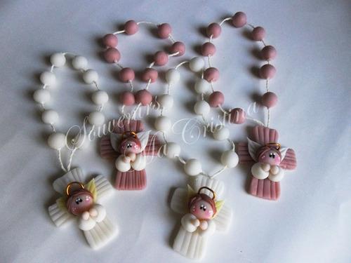 souvenirs bautismo comunión  ángeles hadas denarios