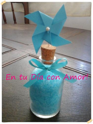 souvenirs botellita sales aromaticas molinito de viento!