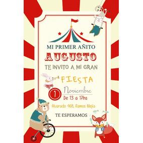 0b440a1e331f8 Tarjetas De Invitacion De Circo en Mercado Libre Argentina