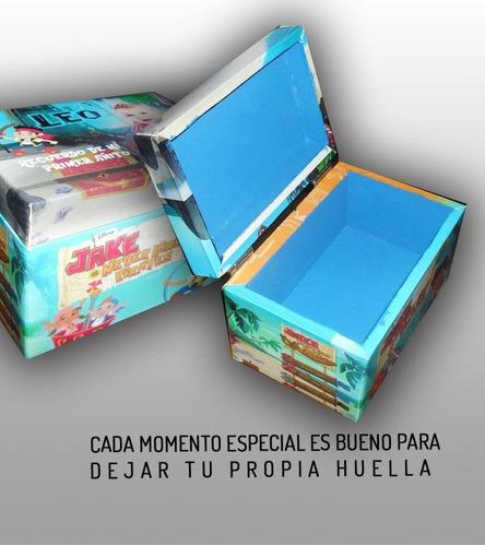 souvenirs cofre de madera personalizado (por 26 unidades)