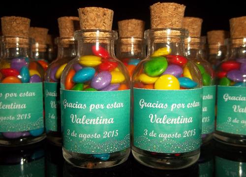 souvenirs, frasquitos con rocklet's, de 6cm! personalizados!