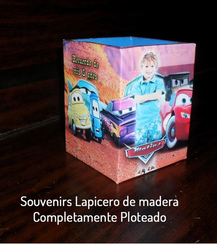 souvenirs / golosinero / lapicero de madera 32 unidades