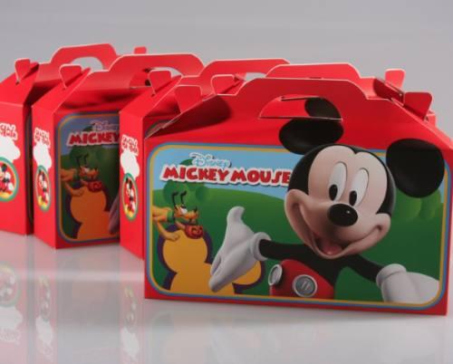 souvenirs infantiles bolsitas golosineras mickey - nuevas!