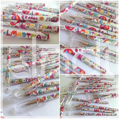 souvenirs lapiceras (o lapices) personalizadas