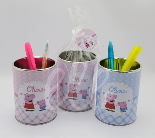 souvenirs lapiceros personalizados x20un+bolsita+cordon+etiq