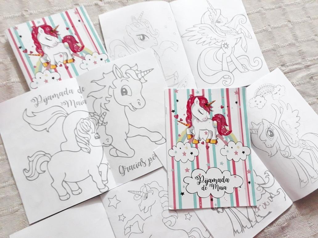 Souvenirs Libros Para Colorear Personalizados - $ 180,00 en Mercado ...