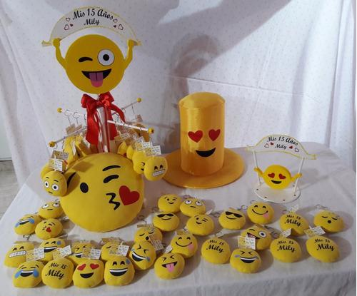 souvenirs llaveros emojis x10 emoticones