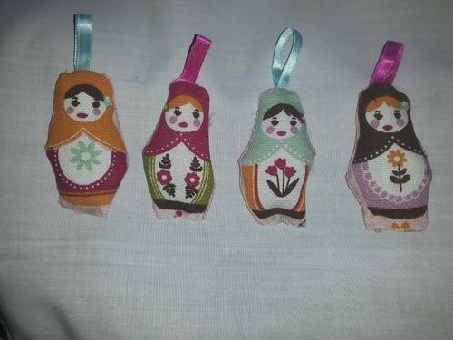 souvenirs llaveros mamushkas x 15