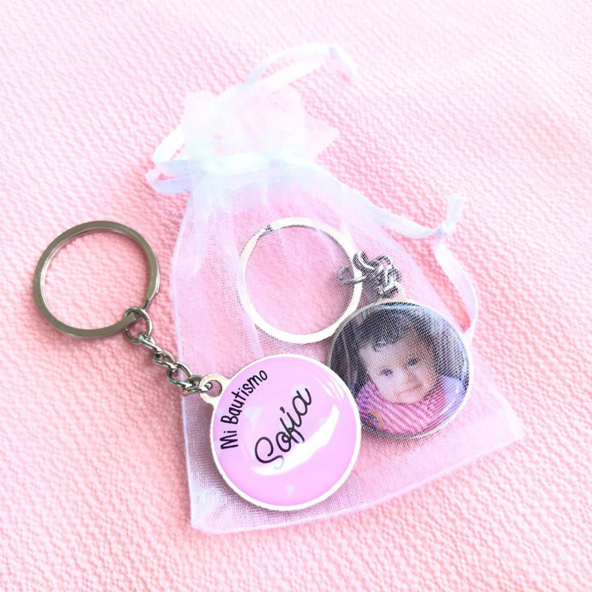 770729686 Souvenirs Llaveros Personalizados Con Bolsita Organza - $ 39,00 en ...