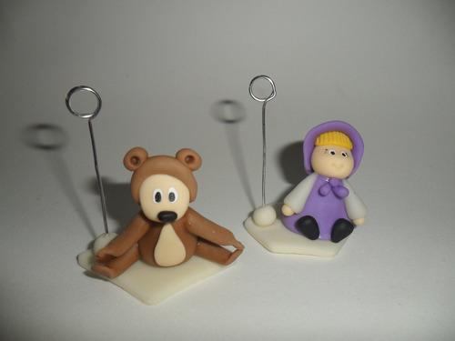 souvenirs masha y el oso, pokemon go y arlo y spot infantil