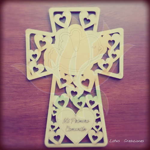 souvenirs mdf-bautismo-comunión-venta directa-corte láser