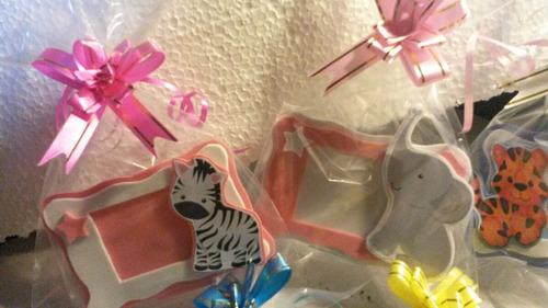 souvenirs mini portaretrato animales con foto incluida