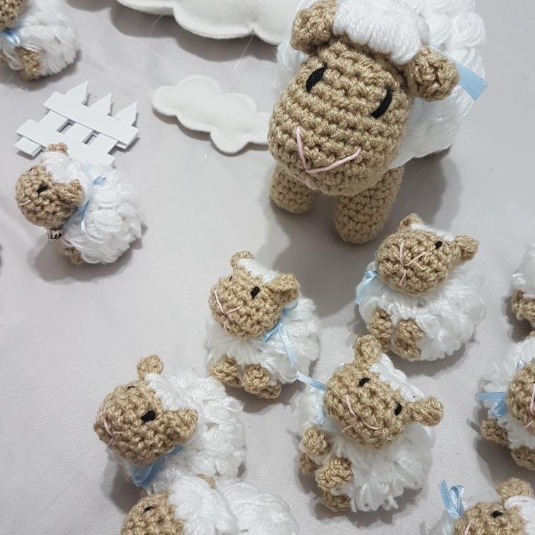Souvenirs Ovejitas Tejidas Para Baby Shower, Nacimiento - $ 1.560,00 ...