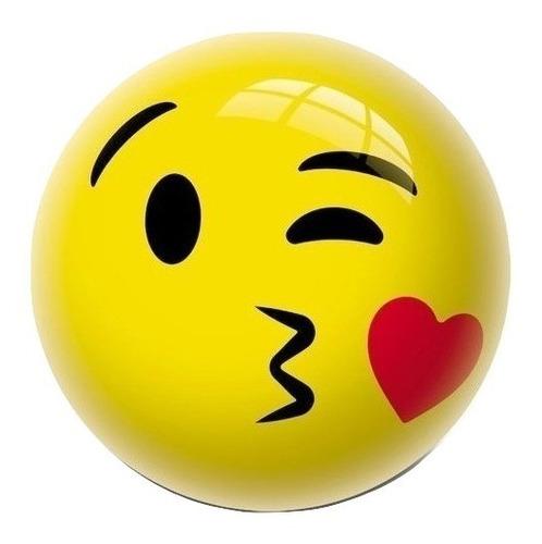 souvenirs pelota de goma emoji diametro 30cm  x15 unidades