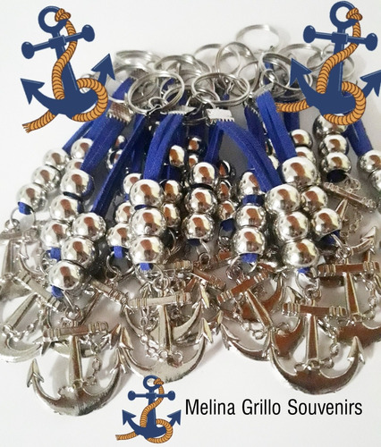souvenirs primer año lata denario o pulsera tema marinerito