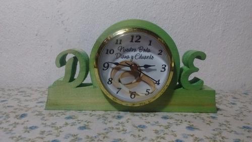 souvenirs relojes personalizados boda