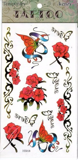 Souvenirs Tatuajes Temporales Para Niñas Niños Y Adultos 35