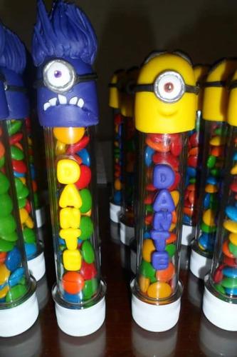 souvenirs tubo golosinero